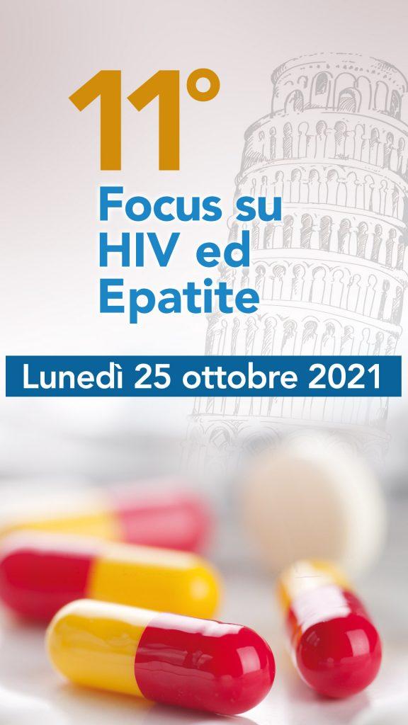 11° Focus su HIV ed Epatite